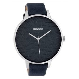 Oozoo C10409 Women's Watch Leather Strap Ø 45 mm Grey