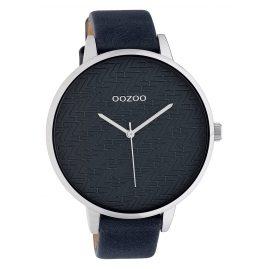 Oozoo C10409 Damenuhr Lederband Ø 45 mm Grau