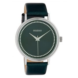 Oozoo C10427 Women's Watch Leather Strap Ø 40 mm Dark Green