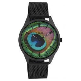 Oozoo C10253 Women's Watch Peacock Black Ø 38 mm