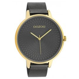 Oozoo C10554 XL Ladies' Watch Stainless Steel Bracelet gold / anthracite