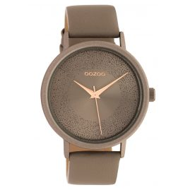 Oozoo C10578 Women's Watch Leather Strap Ø 42 mm taupe