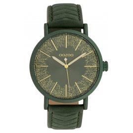 Oozoo C10148 Armbanduhr Dunkelgrün 42 mm