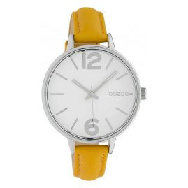 Oozoo C10455 Women's Watch Leather Strap Yellow Ø 38 mm