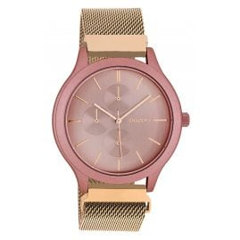 Oozoo C10687 Ladies' Wristwatch with Chrono Look Rose Gold Tone 45 mm