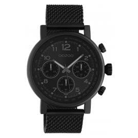 Oozoo C10704 Herren-Armbanduhr im Chrono-Look Schwarz 45 mm