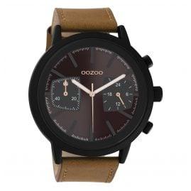 Oozoo C10806 Herrenuhr Braun 50 mm