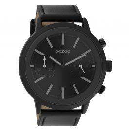 Oozoo C10809 Men's Watch Black 50 mm