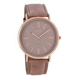 Oozoo C7352 Vintage Damen-Armbanduhr Altrosa 40 mm