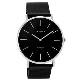 Oozoo C8865 Unisex Wrist Watch Vintage Black 40 mm