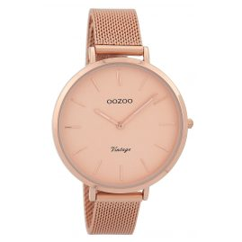 Oozoo C9373 Ladies Watch Vintage Rose Gold Tone 40 mm