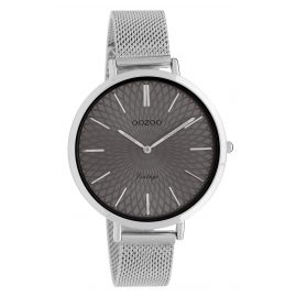 Oozoo C9861 Ladies' Watch Vintage Grey/Mesh Band 40 mm
