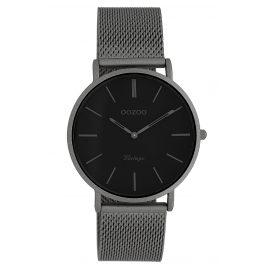 Oozoo C9930 Damen-Armbanduhr Vintage Titanfarben/Schwarz 36 mm