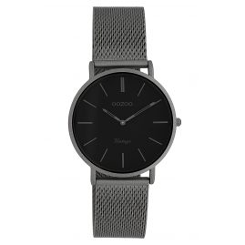 Oozoo C9931 Ladies' Watch Vintage Titanium-Tone/Black 32 mm