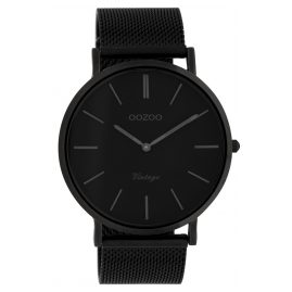 Oozoo C9932 Watch Vintage Black 44 mm