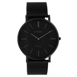 Oozoo C9933 Ladies' Wristwatch Vintage Black 40 mm