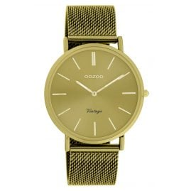 Oozoo C20000 Women's Watch Ultra Slim Mustard 40 mm
