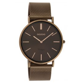 Oozoo C20004 Women's Watch Ultra Slim Brown 40 mm