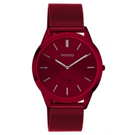 Oozoo C20006 Ladies' Watch Ultra Slim Burgundy 38 mm