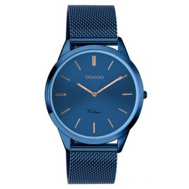 Oozoo C20007 Damen-Armbanduhr Ultra Slim Blau 38 mm