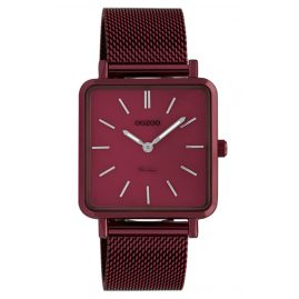 Oozoo C20011 Women's Watch Ultra Slim Burgundy