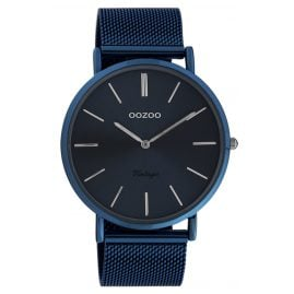 Oozoo C20015 Ladies' Watch Ultra Slim Night Blue 44 mm