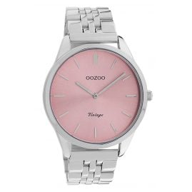 Oozoo C9982 Women's Watch Metal Bracelet Ø 38 mm Steel/Rose