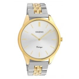 Oozoo C9984 Ladies' Watch Metal Bracelet Ø 38 mm Steel / Two Tone