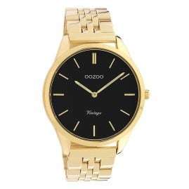 Oozoo C9987 Women's Watch Metal Bracelet Ø 38 mm Gold Tone / Black