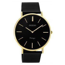 Oozoo C9893 Ladies' Watch Metal Bracelet Ø 40 mm Black