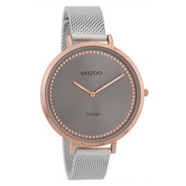 Oozoo C9856 Ladies' Watch Vintage Rose/Grey 40 mm