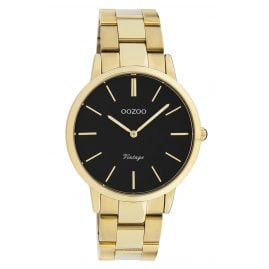Oozoo C20035 Women's Wristwatch Metal Bracelet Ø 38 mm Gold Tone / Black