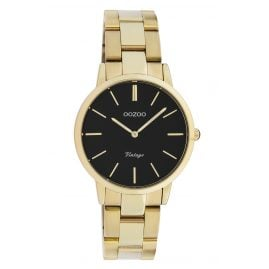 Oozoo C20047 Women's Watch Metal Bracelet Gold/Black Ø 34 mm