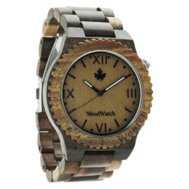 WoodWatch Wootch Green Mens Wood Watch