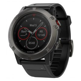 Garmin 010-01733-01 fenix 5X Saphir GPS Multisport Smartwatch