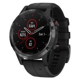 Garmin 010-01988-01 fenix 5 Plus Saphir GPS Multisport Smartwatch Schwarz