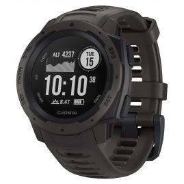 Garmin 010-02064-00 Outdoor-Smartwatch Instinct Schiefergrau/Schwarz
