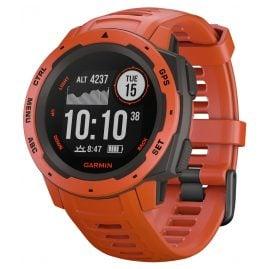 Garmin 010-02064-02 Outdoor-Smartwatch Instinct Hellrot/Schiefergrau