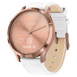 Garmin 010-01850-AB vivomove HR Premium Fitness-Tracker Smartwatch Rosé/Weiß