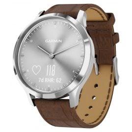Garmin 010-01850-AD vivomove HR Premium Fitness-Tracker Smartwatch Braun