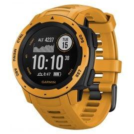 Garmin 010-02064-03 Instinct Outdoor-Smartwatch Gelb/Schiefergrau