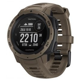 Garmin 010-02064-71 Instinct Tactical Outdoor-Smartwatch Brown/Coyote Tan