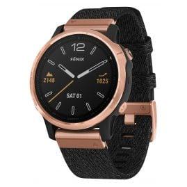 Garmin 010-02159-37 fenix 6S Saphir Smartwatch Roségold/Schwarz