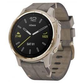 Garmin 010-02159-40 fenix 6S Saphir Smartwatch Gold/Beige