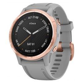 Garmin 010-02159-21 fenix 6S Sapphire Smartwatch Rose Gold/Grey