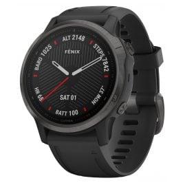 Garmin 010-02159-25 fenix 6S Sapphire Smartwatch Black
