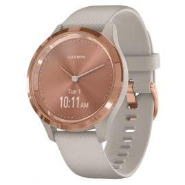 Garmin 010-02238-02 vivomove 3S Smartwatch Silicone Strap Dust Beige/Rose Gol