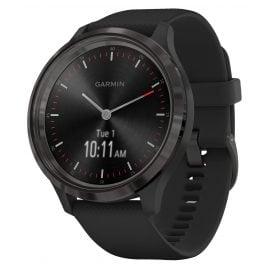 Garmin 010-02239-01 vivomove 3 Smartwatch Silikonband Schwarz/Schiefergrau