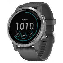 Garmin 010-02174-02 vivoactive 4 GPS Fitness Smartwatch Dark Grey/Silver