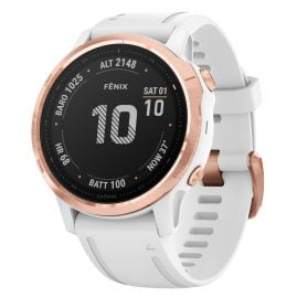 Garmin 010-02159-11 fenix 6S Pro Smartwatch Rose Gold/White 42 mm